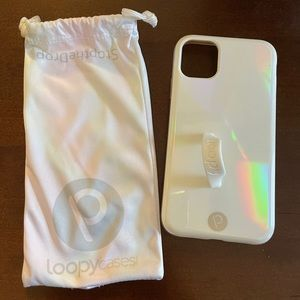 iPhone 11 iridescent Loopy Case